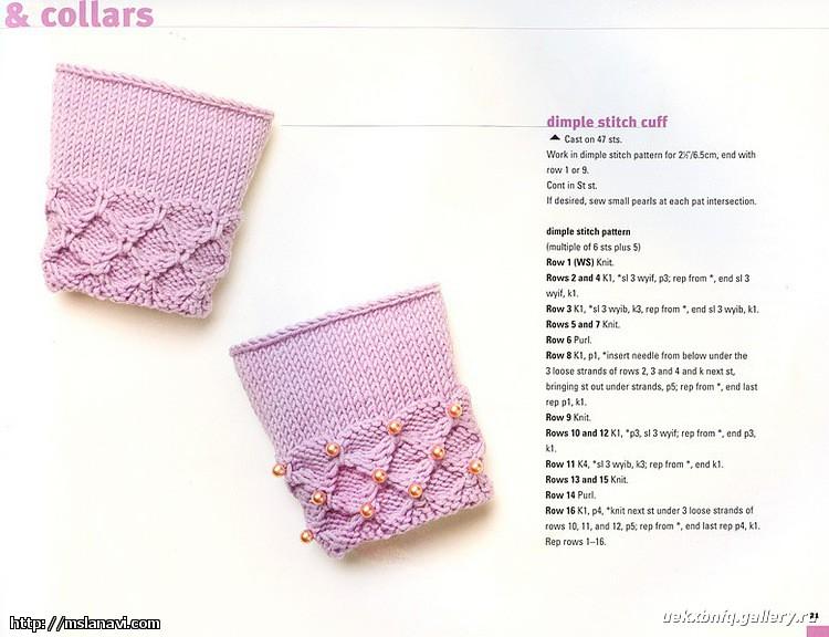 Вязание носков 2 спицами 23