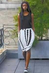 Модели вязаных платьев
