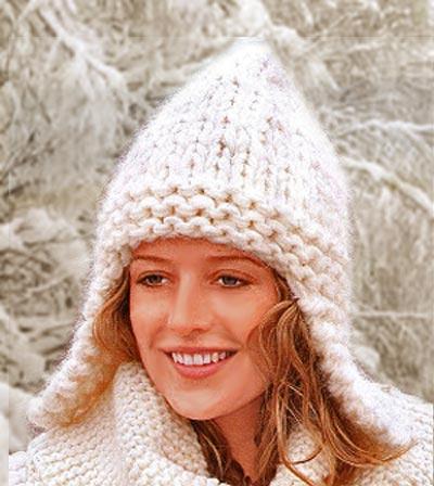 вязаные шапки спицами. вязаные женские шапки.