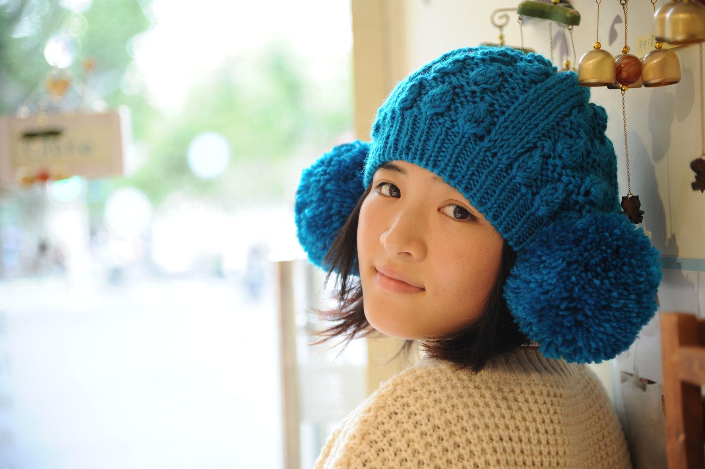 журнал мод со схемами вязания зимних шапок