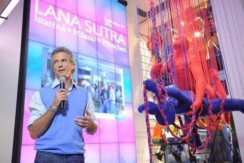 Lana sutra for Benetton vilamarina