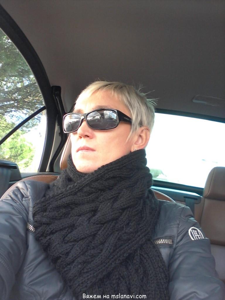 Вязание на спицах шарфы