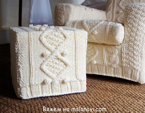 схемы вязания +для дома