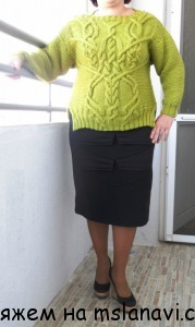 вязаные пуловеры
