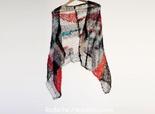 модные вязанные шарфы
