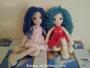 вязание крючком куклы
