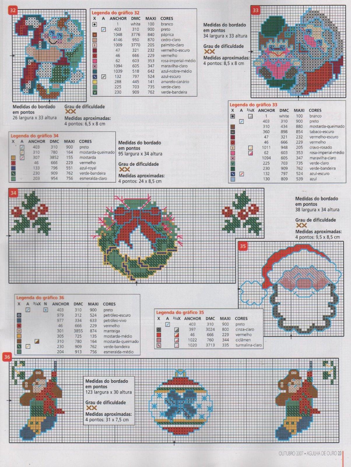 схемы вышивки крестом новогодние шары