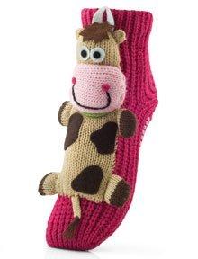 оригинальные вязаные носки
