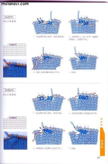 вязание японские журналы, условные обозначения, 36