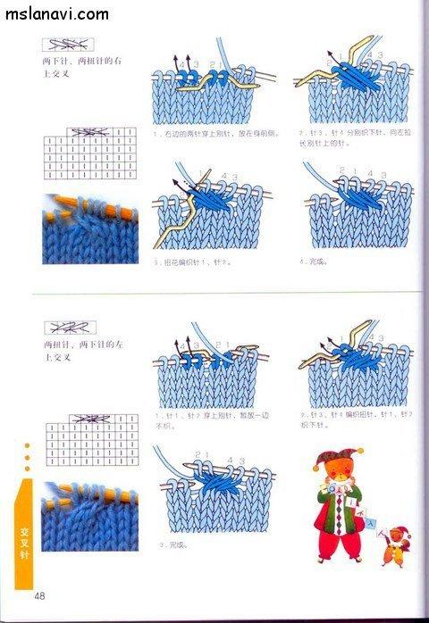 вязание японские журналы, условные обозначения, 37
