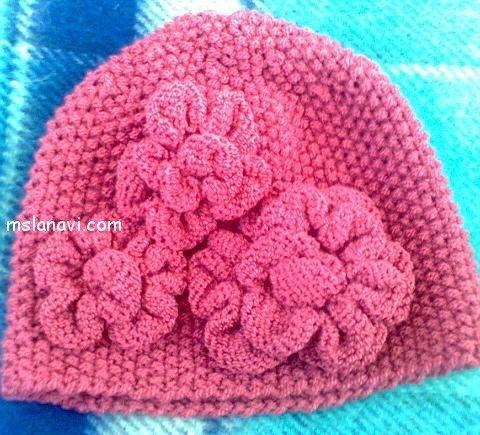 вязание шапок для женщин с описанием