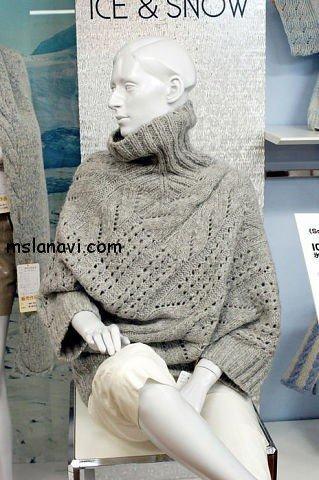 пуловер спицами 2