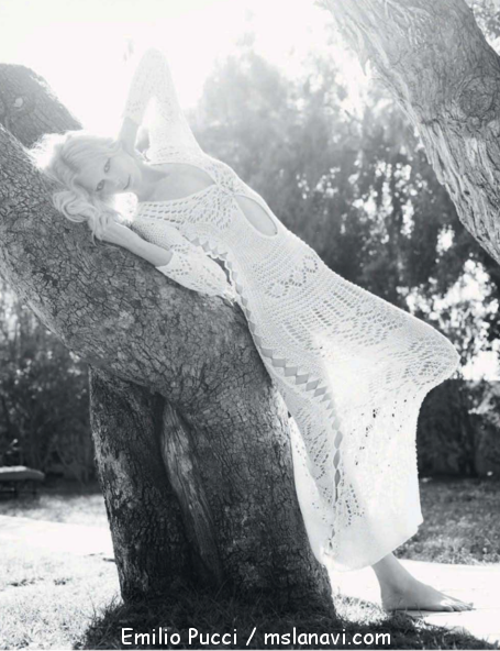 Вязаное платье от Emilio Pucci