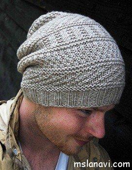 оригинальные вязаные шапки вяжем с лана ви