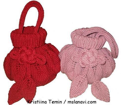 Вязаные сумки от Kristiina Temin