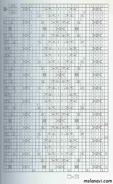 узор-спицами-схема