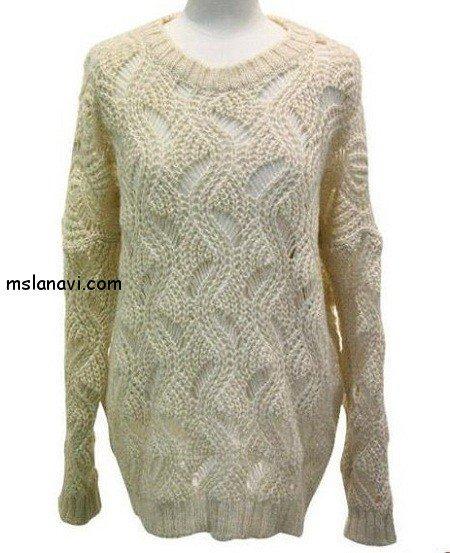 Очень красивый свитер.