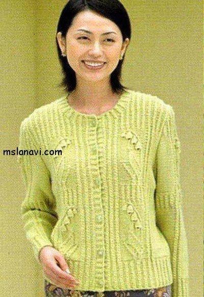 пуловеры с цветами 3