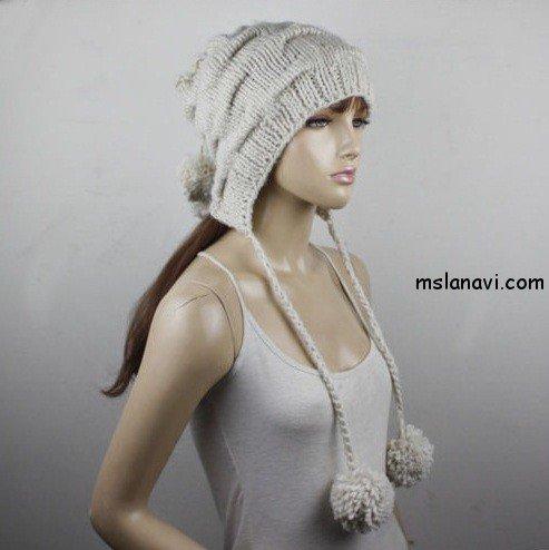 снуд и шапка спицами 1