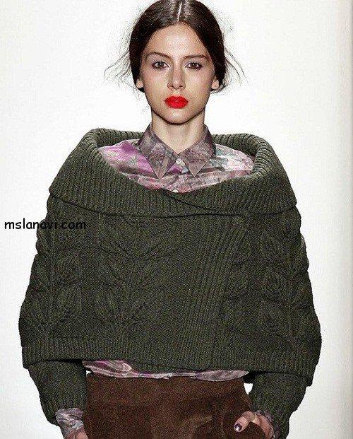 Женские пуловеры с листьями costello tagliapietra