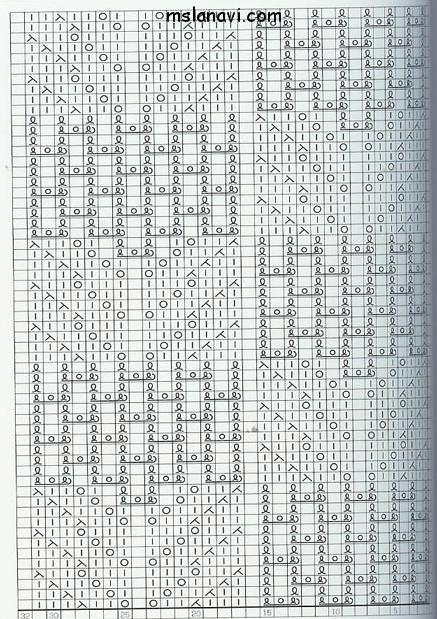 Ажурный узор №79
