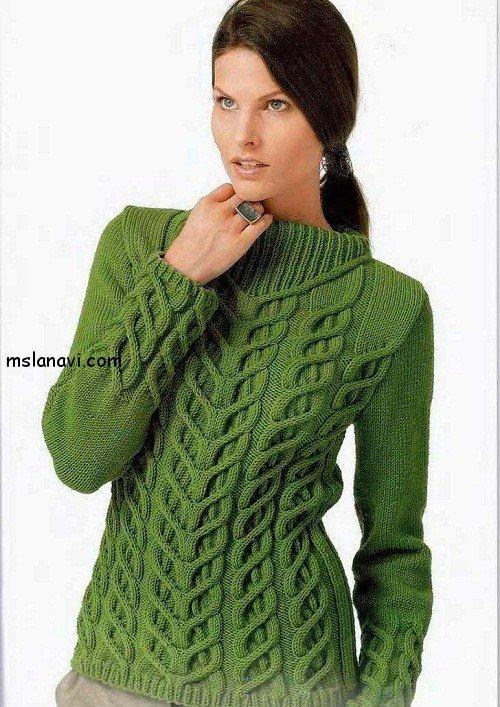 женские пуловеры