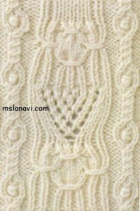 вязание узор со схемой