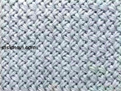 3-й вариант — узор «плетенка»