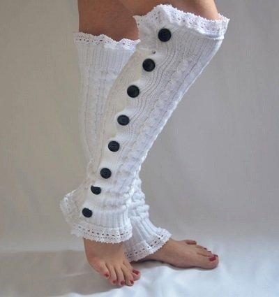 вязаные носки фото