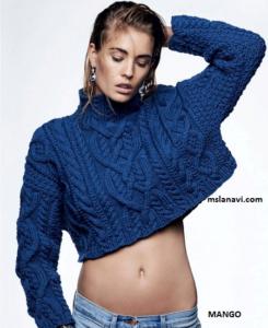 Стильный пуловер из Vogue Russia
