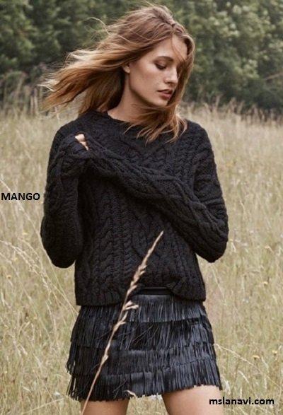 Стильный пуловер от MANGO