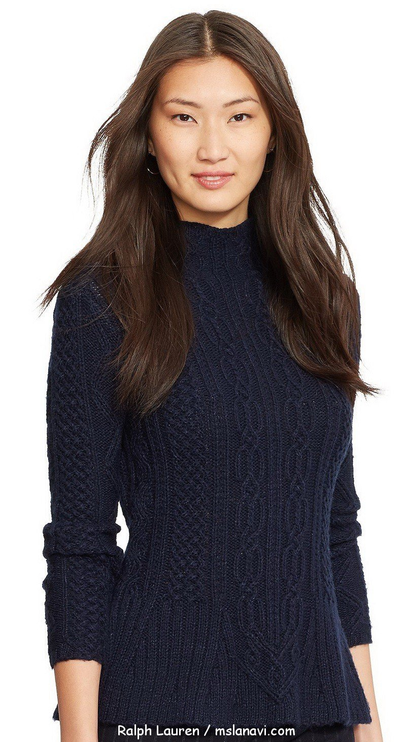 Ralph lauren свитер спицами схемы