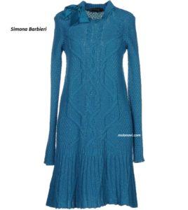 Вязаное-платье-спицами-для-женщин-Simona-Barbieri-перед-916x1024