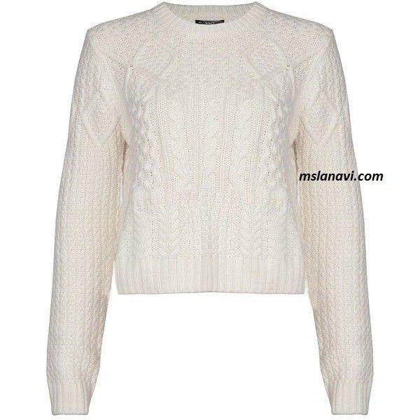 вязаный свитер схема вяжем с лана ви