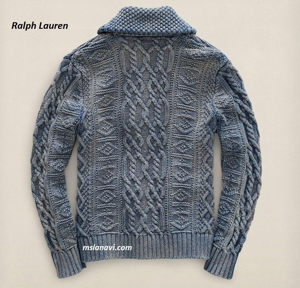 Вязаный жакет для мужчин от Ralph Lauren