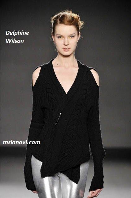 фото вязаных моделей спицами от Delphine Wilson 5