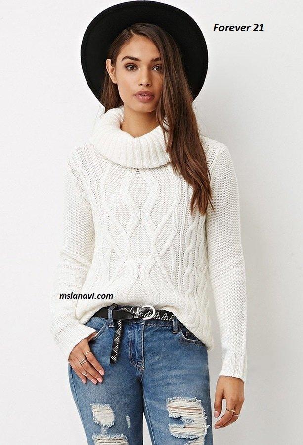 Вязанные пуловеры