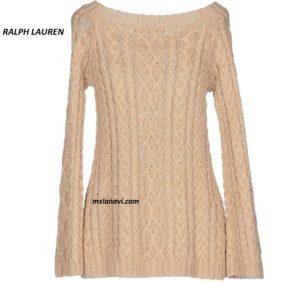 Вязаная туника-свитер от RALPH LAUREN