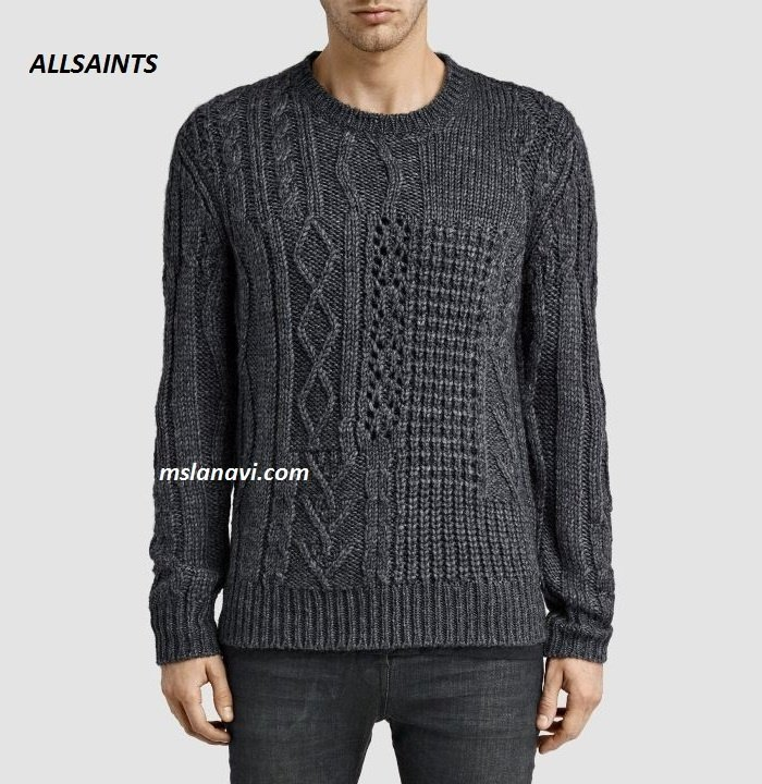 Свитера мужские спицами. Мужской пуловер спицами схемы и описание.