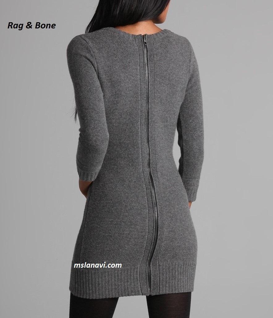 Платье с аранами от Rag & Bone