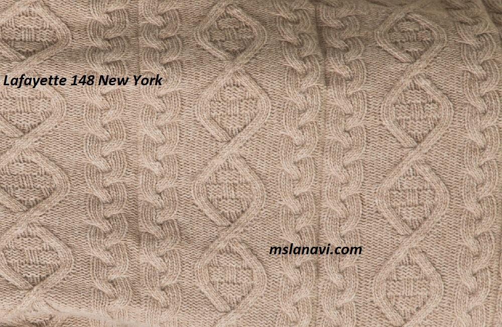 Вязаное пальто спицами от Lafayette 148 New York