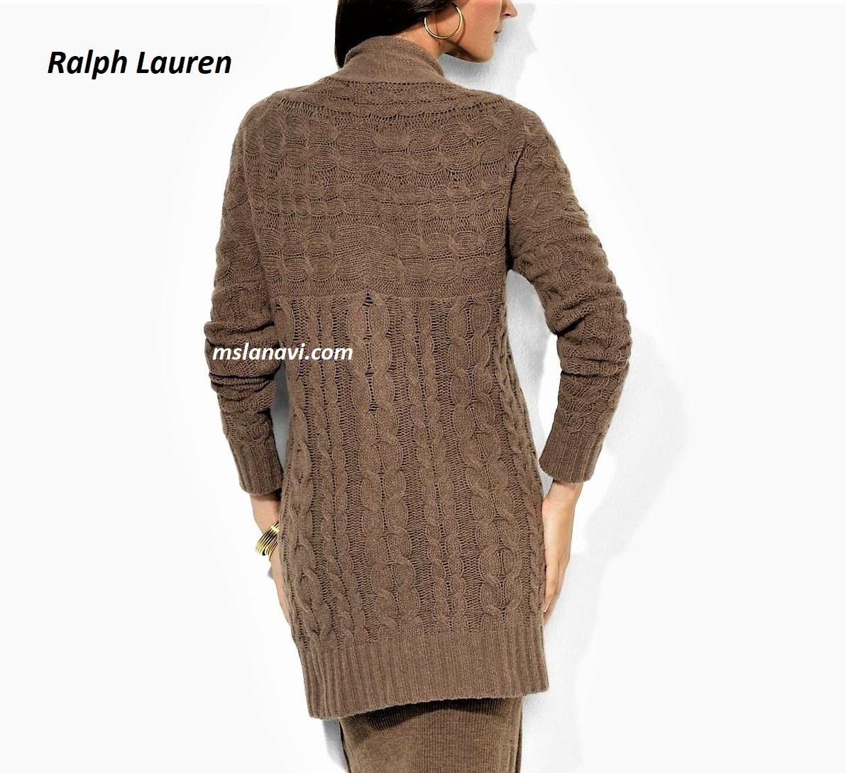 кардиган для вязания спицами от Ralph Lauren