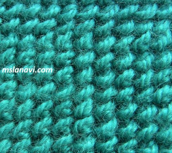 Вязание спицами узор листопад 38