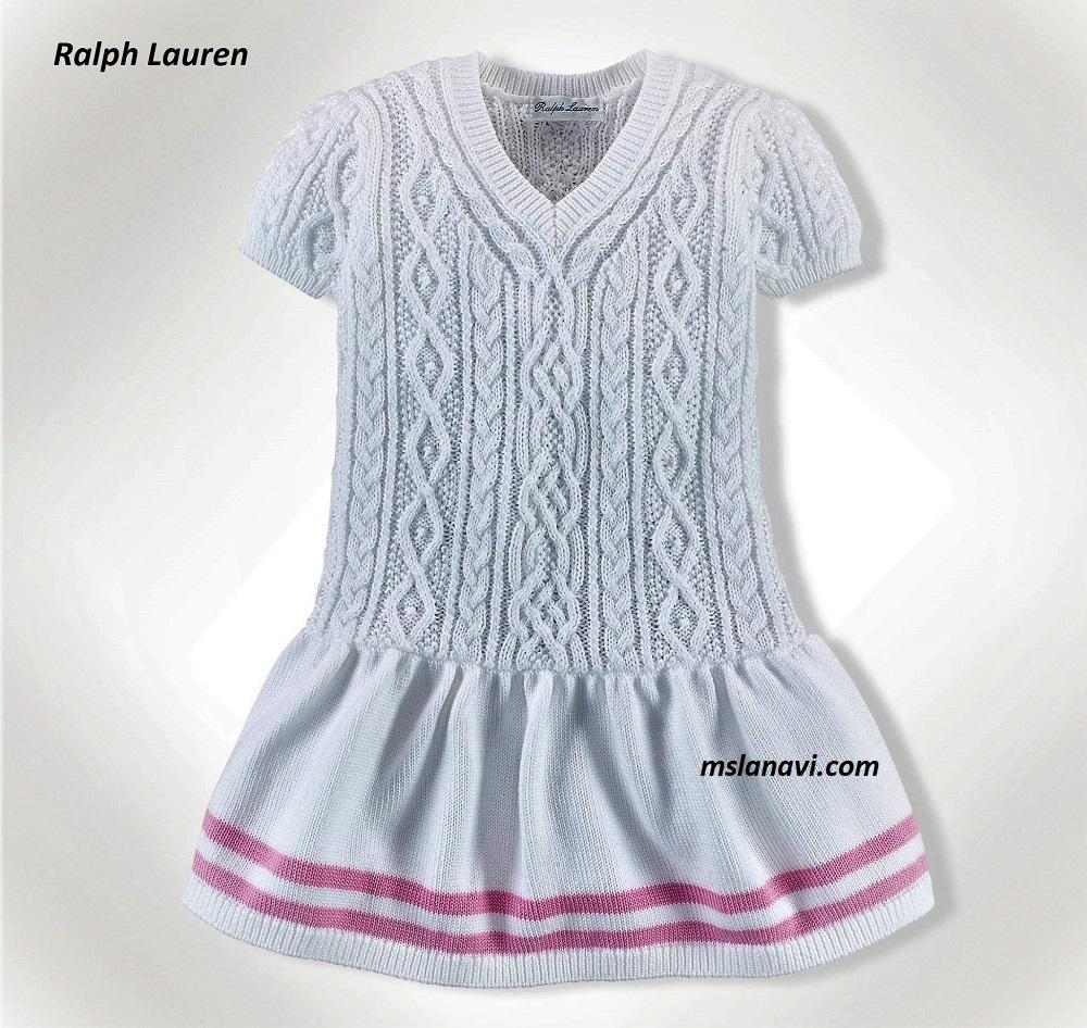 Детское платье машинное вязание схема фото 90