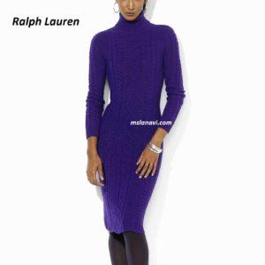 Элегантное платье спицами от Ralph Lauren
