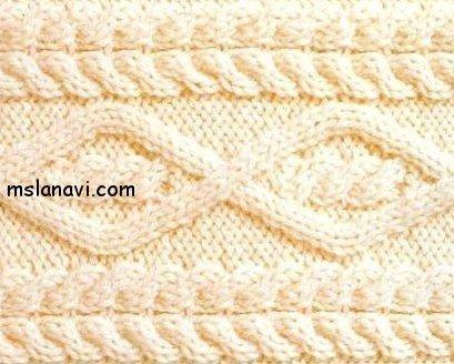 Вязание аранов спицами