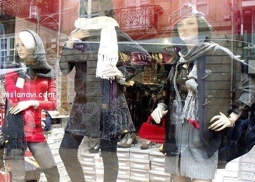 Модные вязаные модели у французов