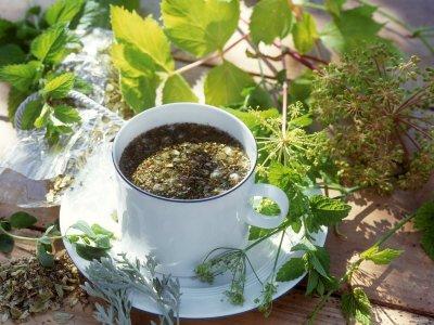 Чай для выведения шлаков и токсинов