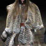 Вязаная кофта с мехом, осень-зима 2011-2012