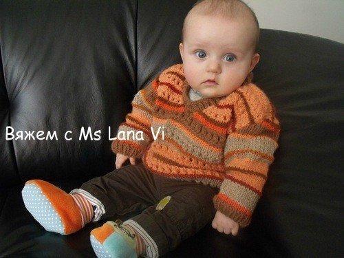 вязание для малышей спицами